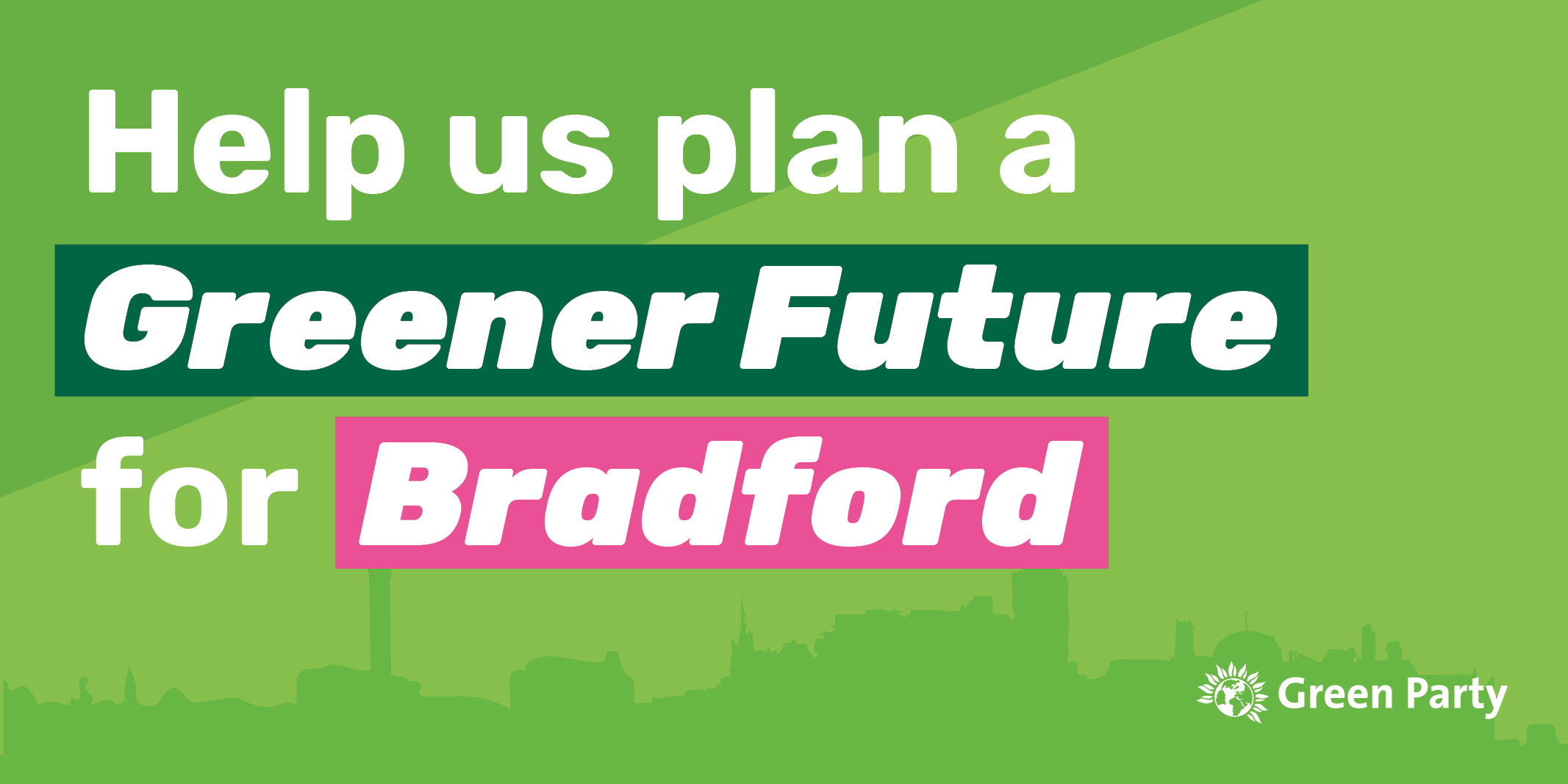 Help us plan for a greener future for Bradford [Website]