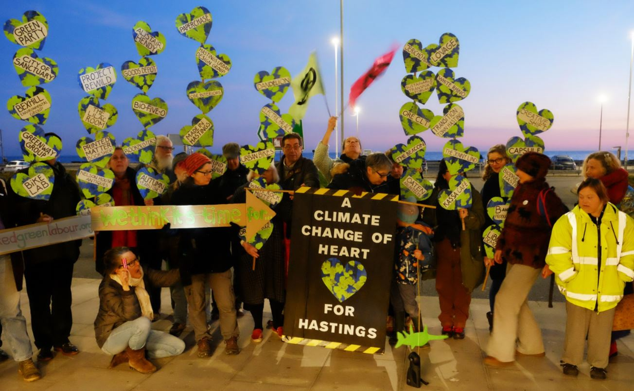 Calling on Hastings Council to declare climate emergency