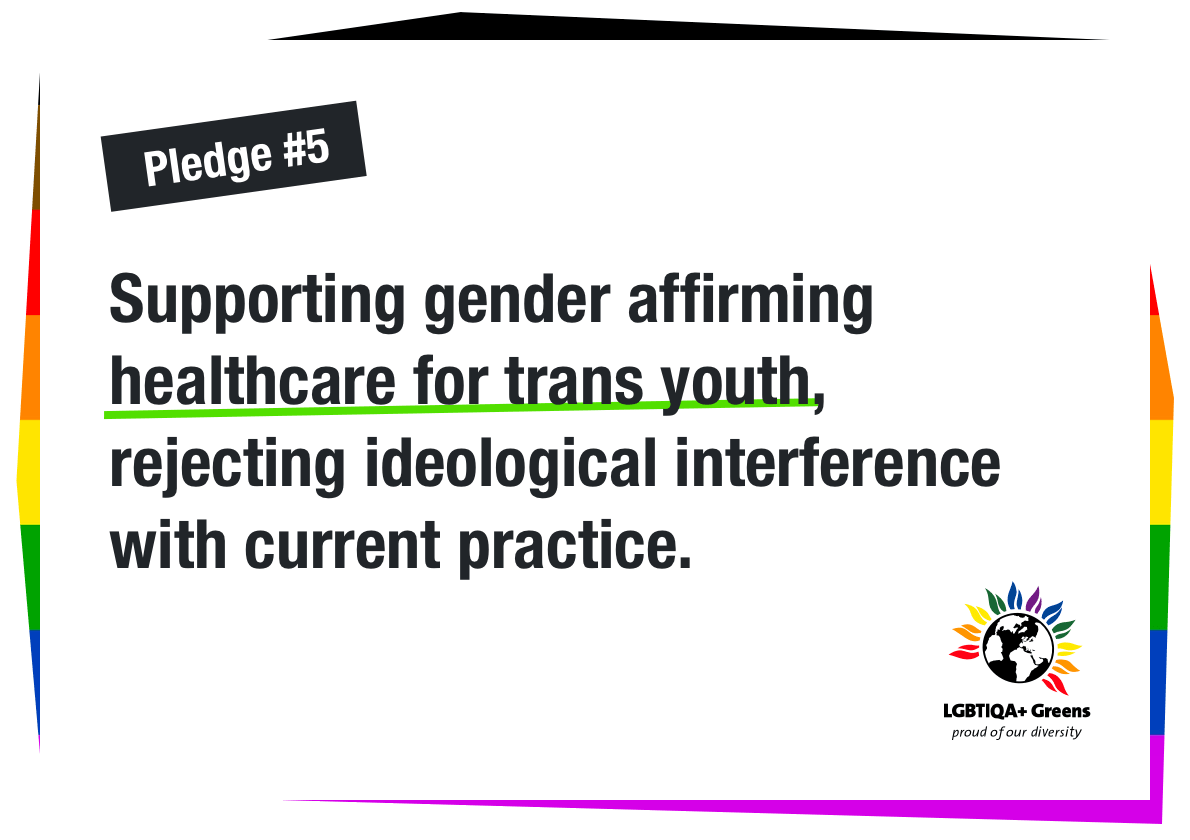 Supporting gender affirming healthcare for trans youth rejecting ideological interference with current practice