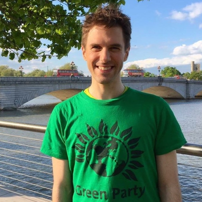 Ben is profoundly Deaf and partially-sighted <br> and is bilingual in English and <br> British Sign Language. <br> He stood for the Green Party in <br> Putney in the 2017 General Election <br> and in Southfields ward in the 2018 <br> local elections and was awarded the <br> Most Inspiring Candidate award at <br> the 2017 Autumn Conference.  If <br> elected to the London Assembly in 2020, <br> he will work hard to make the policies <br> of the Green Party a reality in London and <br> to proudly represent the Deaf <br> and disabled community who are currently <br> under-represented in British political life.