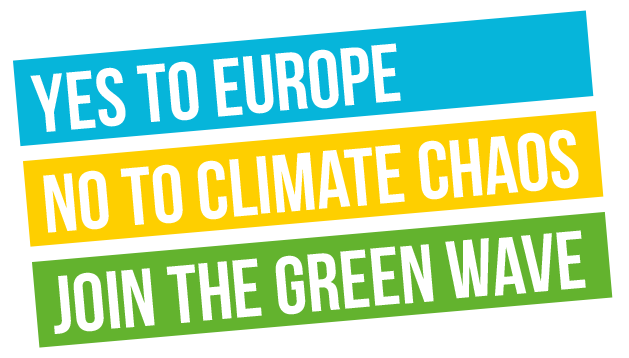 Yes to Europe, No to Climate Chaos, Join the Green Wave