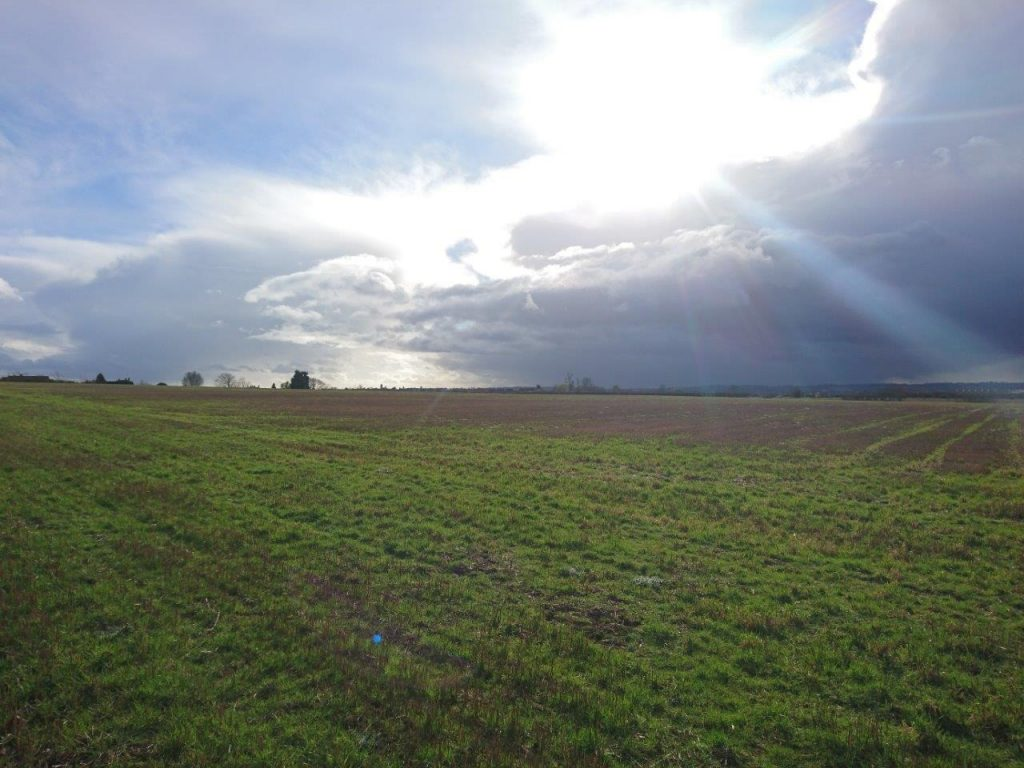 Highover Farm site from Stotfold