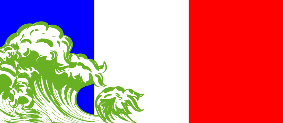 Green Wave washes over France