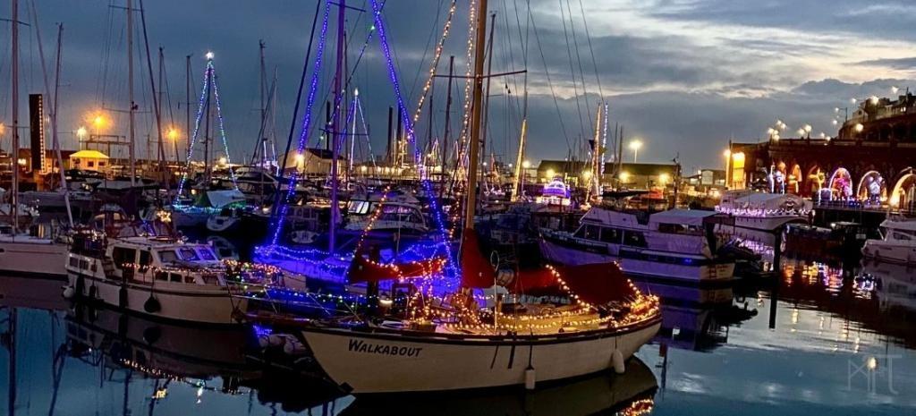 Ramsgate Harbour lights